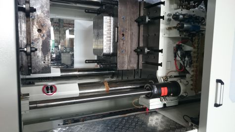 Injection Moulding Machine (Closing Stroke Protection)